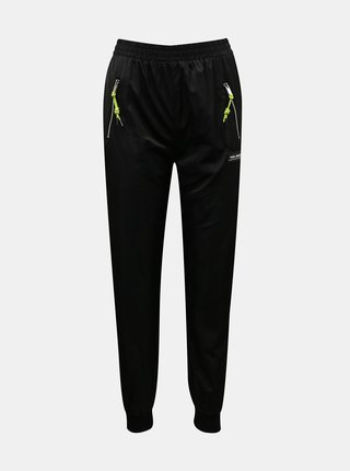 Čierne šušťákové nohavice TALLY WEiJL