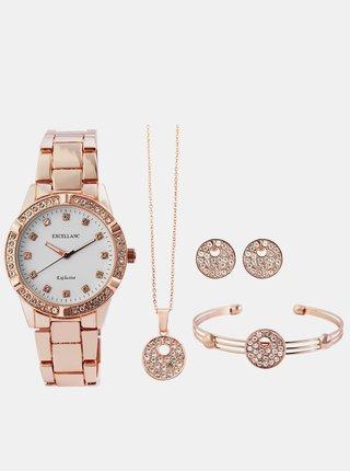 Sada dámských hodinek a šperků Excellanc