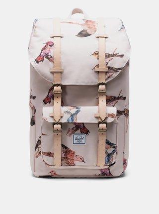 Růžový vzorovaný batoh Herschel Supply