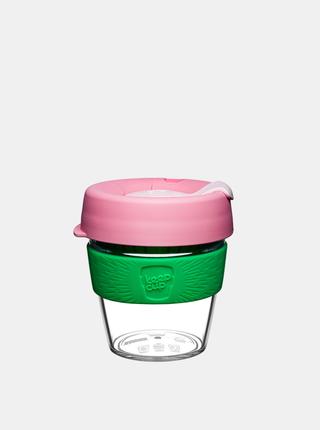Růžový plastový cestovní hrnek KeepCup Clear Willow small 227 ml