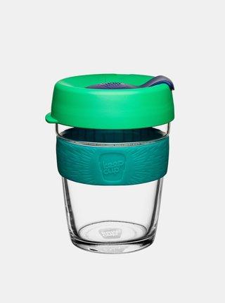 Zelený skleněný cestovní hrnek KeepCup Floret Brew medium 340 ml