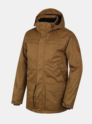 Hnedá pánska zimná bunda Hannah