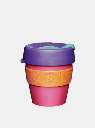 Růžový plastový cestovní hrnek KeepCup Kinetic small 227ml