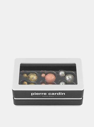 Sada tří párů dámských náušnic Pierre Cardin