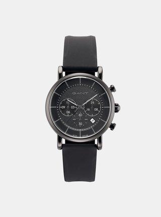 Pánske hodinky s čiernym remienkom GANT