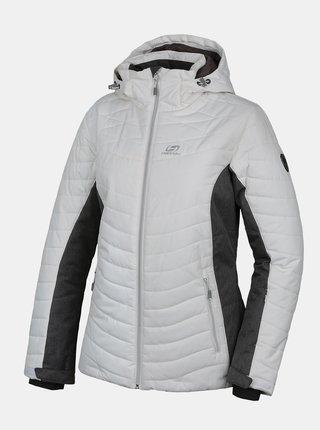 Bílá dámská zimná bunda Hannah