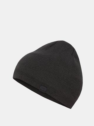 Tmavě šedá pánská čepice Hannah
