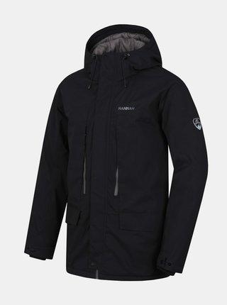 Čierna pánska zimná bunda Hannah