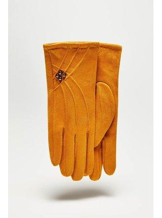 Moodo hořčicové rukavice