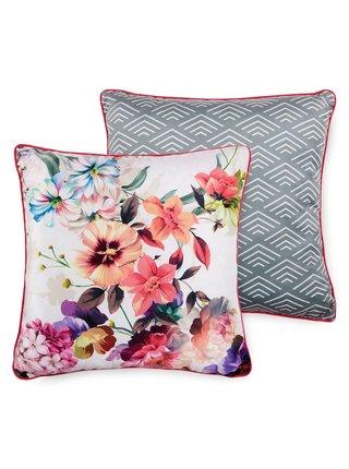 Home dekorativní polštář s výplní Descanso Novara White 48x48