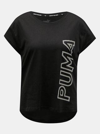 Černé dámské tričko s potiskem Puma