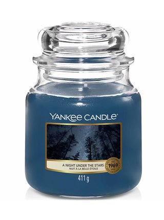 Yankee Candle vonná svíčka A Night Under The Stars Classic střední