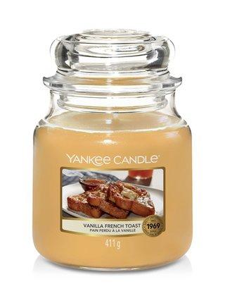 Yankee Candle vonná svíčka Vanilla French Toast Classic střední