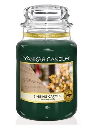 Yankee Candle vonná svíčka Singing Carols Classic velká