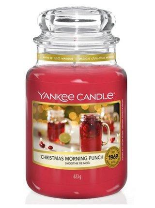 Yankee Candle vonná svíčka Christmas Morning Punch Classic velká