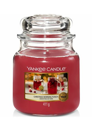 Yankee Candle vonná svíčka Christmas Morning Punch Classic střední