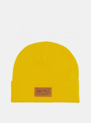 Žltá pánska čiapka Meatfly Brady
