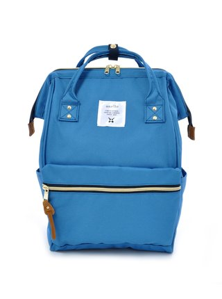 Světle modrý batoh Anello 18 l