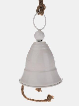 Biely závesný zvonček Dakls