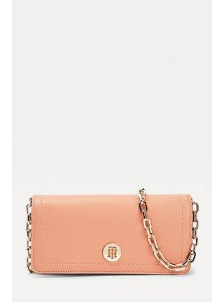 Tommy Hilfiger malá pudrově růžová kabelka Honey Mini Crossover Clay Pink