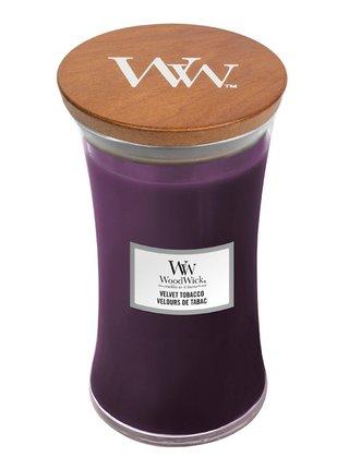 WoodWick vonná svíčka Velvet Tobacco velká váza