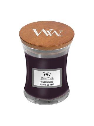 WoodWick vonná svíčka Velvet Tobacco malá váza