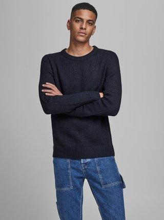 Tmavomodrý sveter Jack & Jones