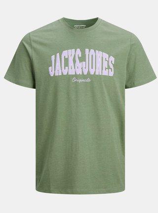 Zelené tričko s potiskem Jack & Jones