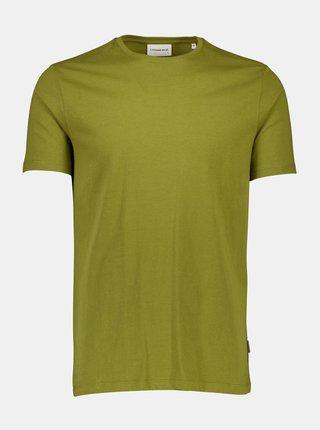 Kaki basic tričko Lindbergh