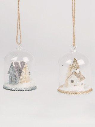 Sada dvou vánočních ozdob Sass & Belle