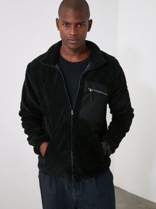 Paltoane pentru barbati Trendyol - negru