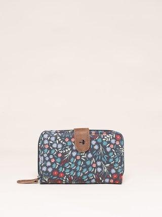 Šedá květovaná peněženka Brakeburn