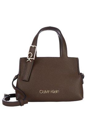 Calvin Klein hnědá kabelka Tote XS