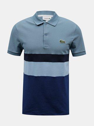 Pánské pruhované polo tričko Lacoste