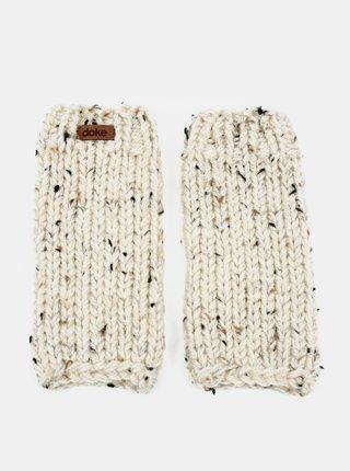 Béžové dámské návleky na ruce DOKE