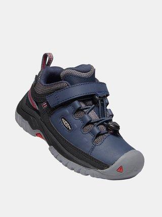 Modré klučičí zimní boty Keen