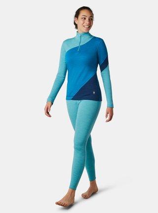 Modré dámské sportovní tričko Smartwool