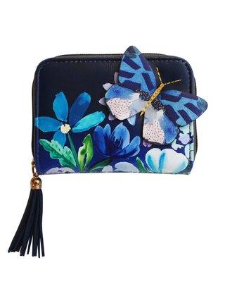 Disaster modro-šedá peněženka Papillon Purse