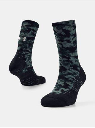 Ponožky Under Armour UA Run Cushion Crew-BLU