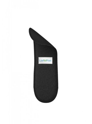 LadyPad Samostatná látková vkládací vložka (M) - černá