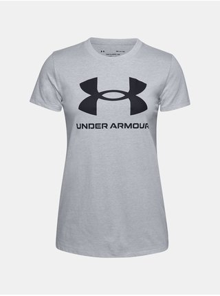 Tričko Under Armour Live Sportstyle Graphic SSC-GRY