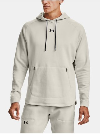 Mikina Under Armour Charged Cotton Fleece HD-WHT