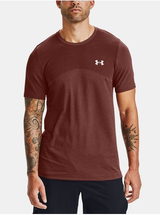 Tričko Under Armour Seamless SS-RED
