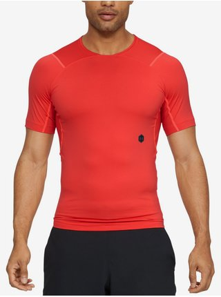 Kompresní tričko Under Armour Hg Rush Compression Ss-Red