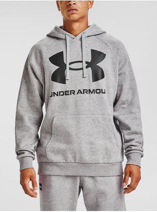 Mikina Under Armour Rival Fleece Big Logo HD-GRY