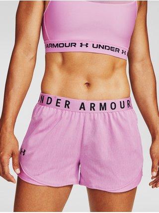 Kraťasy Under Armour Play Up Twist Shorts 3.0 - světle fialová