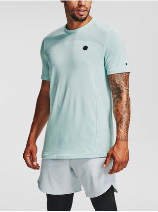 Tričko Under Armour Rush Seamless Fitted SS-BLU