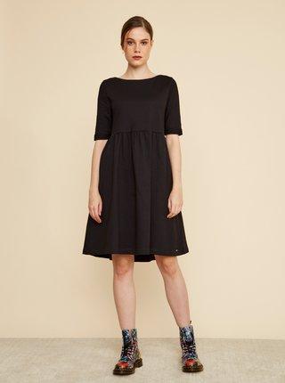 Čierne šaty s vreckami ZOOT Baseline Monika 2