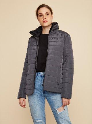 Čierna dámska zimná prešívaná bunda ZOOT Baseline Daisy