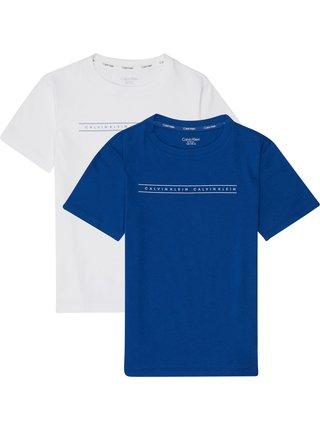 Calvin Klein 2 pack chlapeckých triček